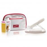 СЕТ за Депилација: Топилка + Ролон + Ленти + Масло за Чистење Восок Depileve