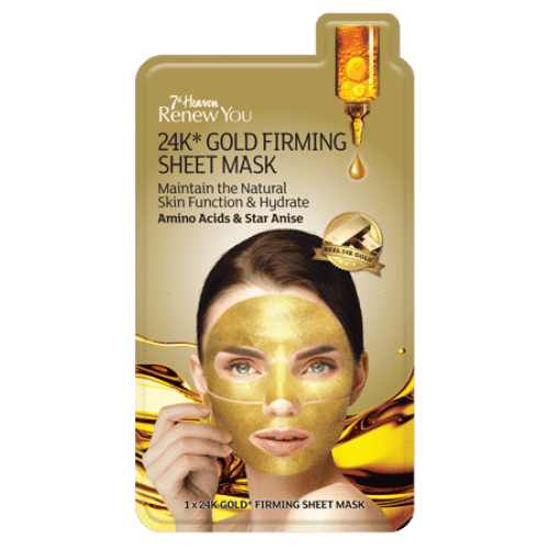 ReNew YOU 24K Gold Firming Mask - 24 Каратна Златна маска