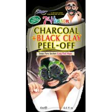 7th Heaven CHARCOAL+BLACK CLAY - пилоф маска со активен јаглен