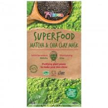 Super Food Matcha & Chia  - маска со мака и чија