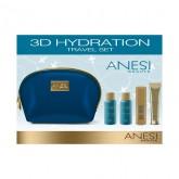 HYDRATION сет за патување (лосион + пена + маска + хидратантна крема) ANESI