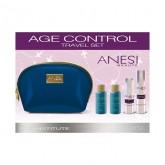 AGE CONTROL сет за патување (стимулатор + крема за подмладување + лосион + пена) ANESI